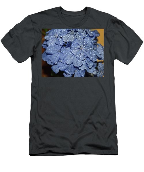 Blue Plumbago Men's T-Shirt (Athletic Fit)