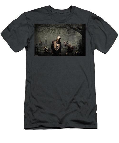 Zombie Men's T-Shirt (Athletic Fit)