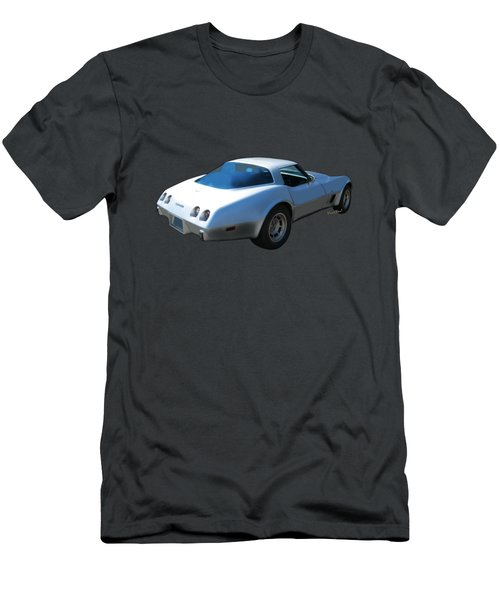 82 Corvette Generation C3 1968 To 1982 Men's T-Shirt (Athletic Fit)