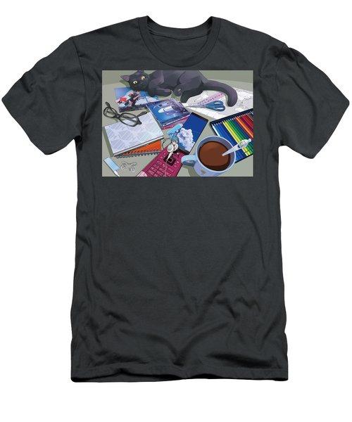 Vocaloid Men's T-Shirt (Athletic Fit)