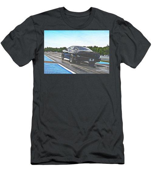 8706 06-15-2015 Esta Safety Park Men's T-Shirt (Athletic Fit)