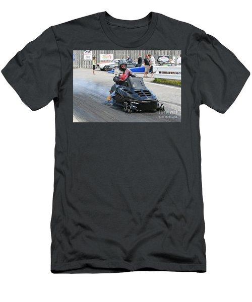 8743 06-15-2015 Esta Safety Park Men's T-Shirt (Athletic Fit)