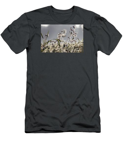 Men's T-Shirt (Slim Fit) featuring the photograph Meadow Flowers by Odon Czintos
