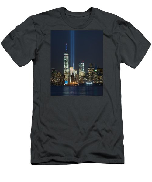 9.11.2015 Tribute In Light Men's T-Shirt (Athletic Fit)