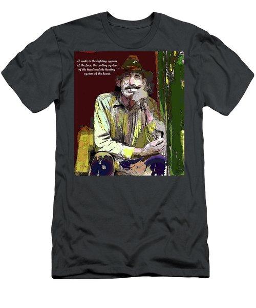 Motivational Quotes Men's T-Shirt (Athletic Fit)