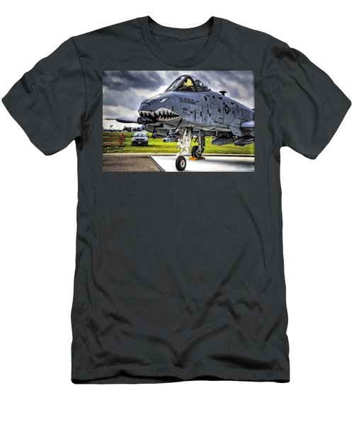 A-10 Thunderbolt  Men's T-Shirt (Athletic Fit)