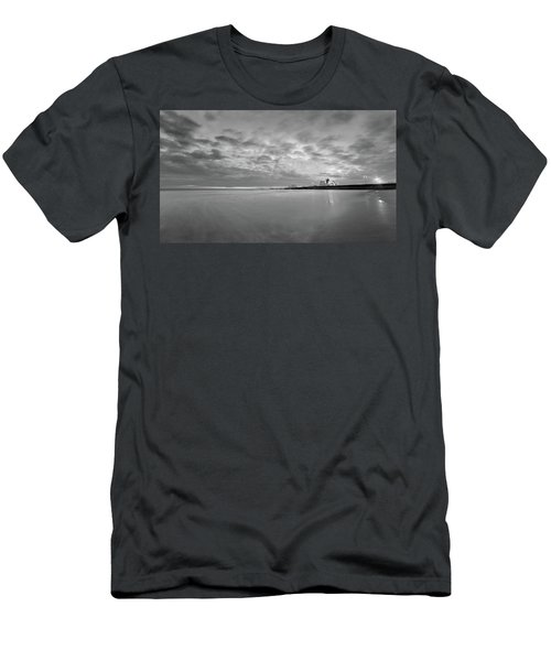 A Beach And A Bunch Of Boats Men's T-Shirt (Athletic Fit)