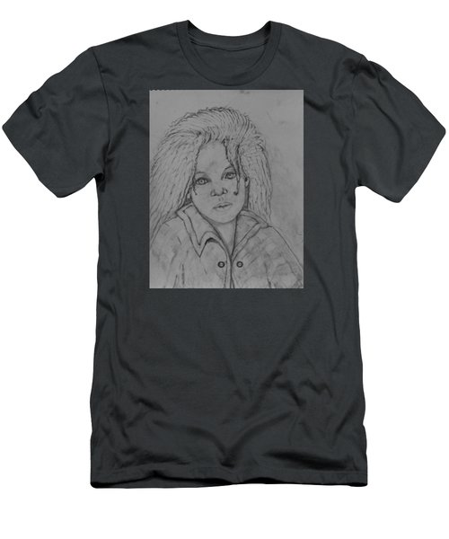 Wistful, The Drawing. Men's T-Shirt (Athletic Fit)