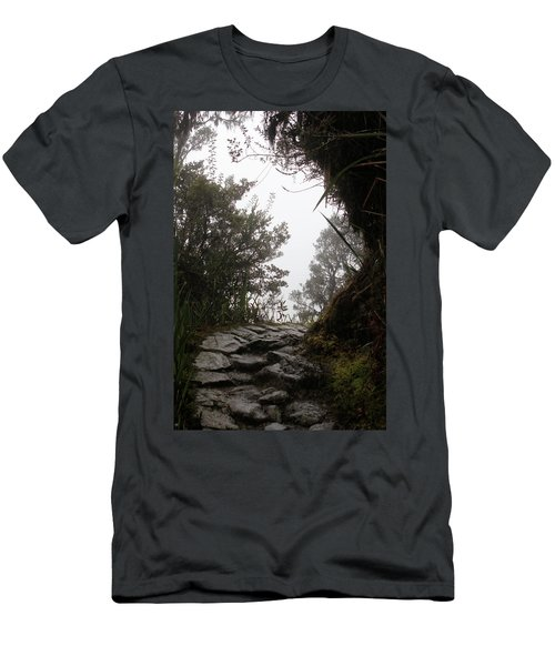 A Bend In The Path Men's T-Shirt (Athletic Fit)