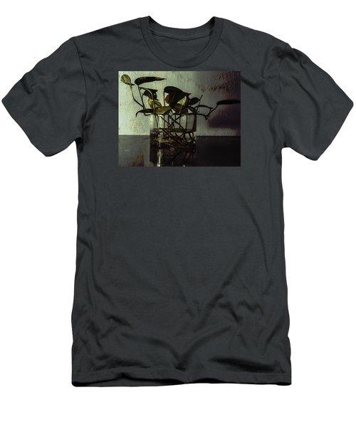 A Bit Of Grunge Men's T-Shirt (Slim Fit) by Rajiv Chopra