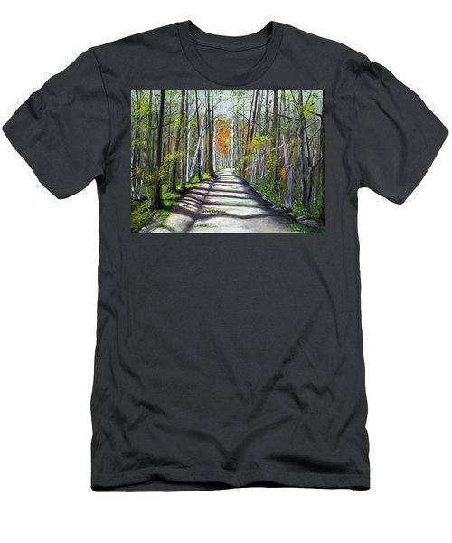 A Bright Autumn Day  Men's T-Shirt (Athletic Fit)