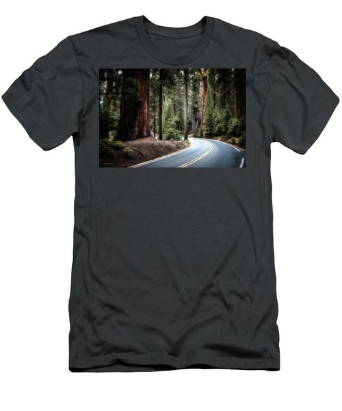 A Bright Future Around The Bend Men's T-Shirt (Athletic Fit)