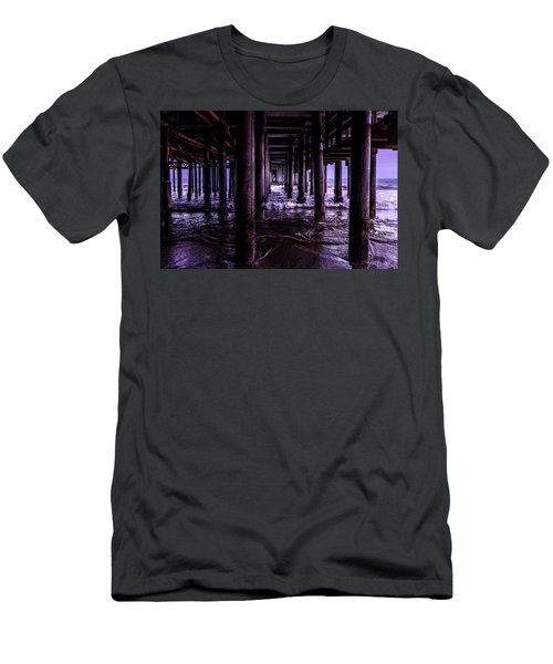 A Cloudy Day Under The Pier Men's T-Shirt (Athletic Fit)