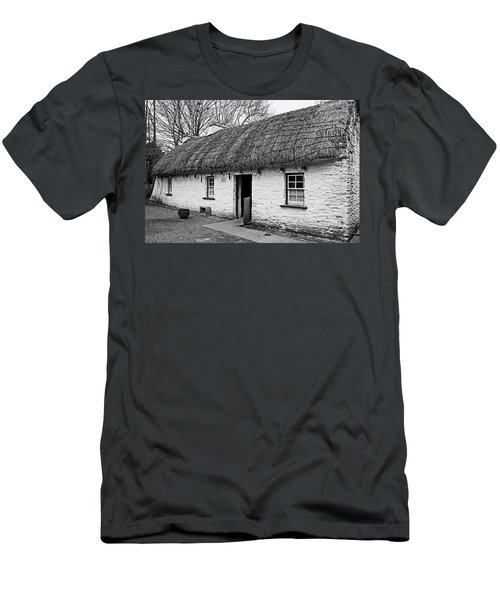 A Country Cottage Men's T-Shirt (Slim Fit) by Martina Fagan