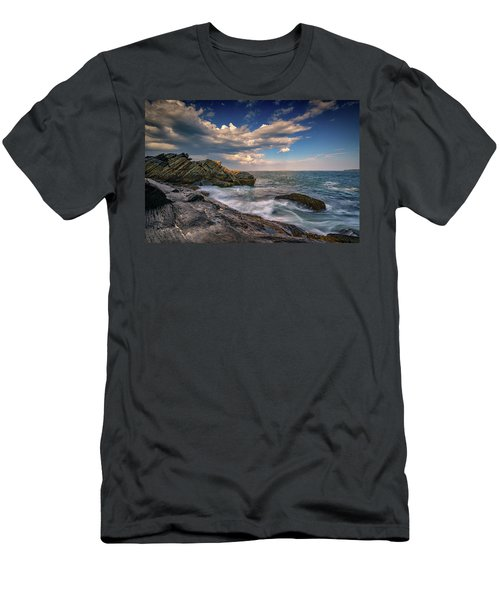 A Cove On Muscongus Bay Men's T-Shirt (Athletic Fit)
