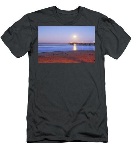 A Crystal Moon Men's T-Shirt (Slim Fit) by Joseph S Giacalone