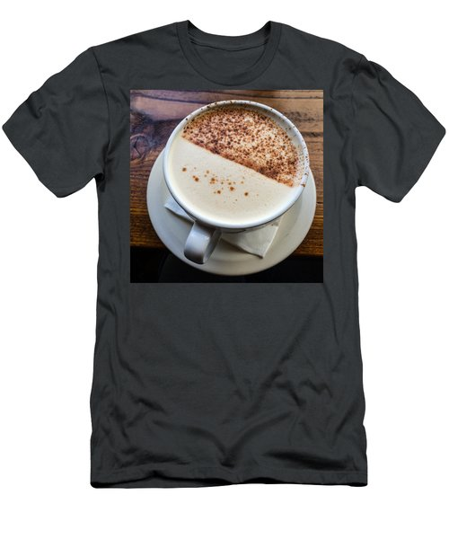 A Cup Of Chai Men's T-Shirt (Slim Fit) by Ronda Broatch