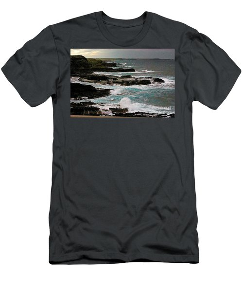 A Dangerous Coastline Men's T-Shirt (Athletic Fit)