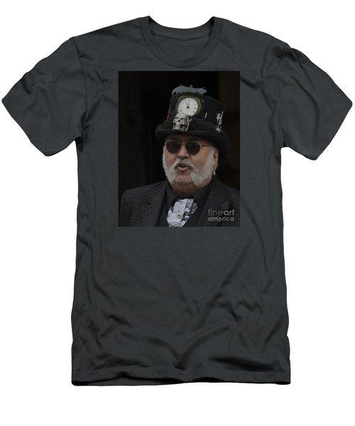 A Dapper Steampunk Men's T-Shirt (Athletic Fit)