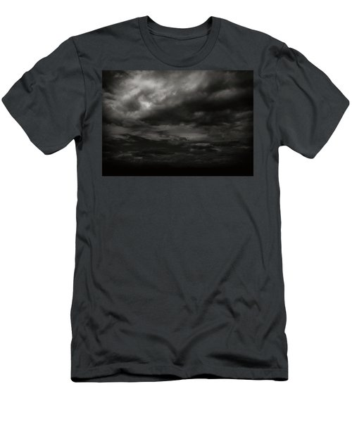Men's T-Shirt (Slim Fit) featuring the photograph A Dark Moody Storm by John Norman Stewart