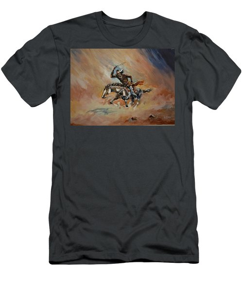 A Dash For Cover Racing Oncoming Sandstorm   Men's T-Shirt (Athletic Fit)
