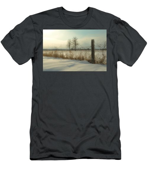 A Dawn Of New Snow Men's T-Shirt (Athletic Fit)