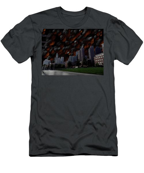 A Dimension Of Boston Rarely Seen Men's T-Shirt (Athletic Fit)