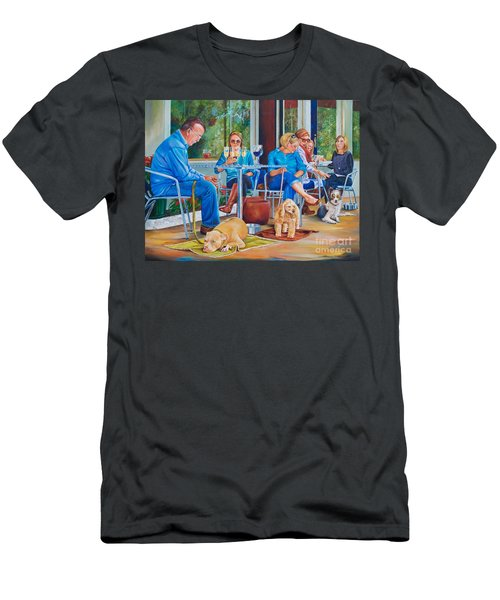A Dog's Life Men's T-Shirt (Athletic Fit)