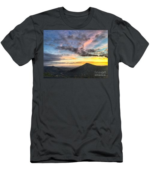 A Feeling Of The Presence Of God - Digital Painting Men's T-Shirt (Athletic Fit)