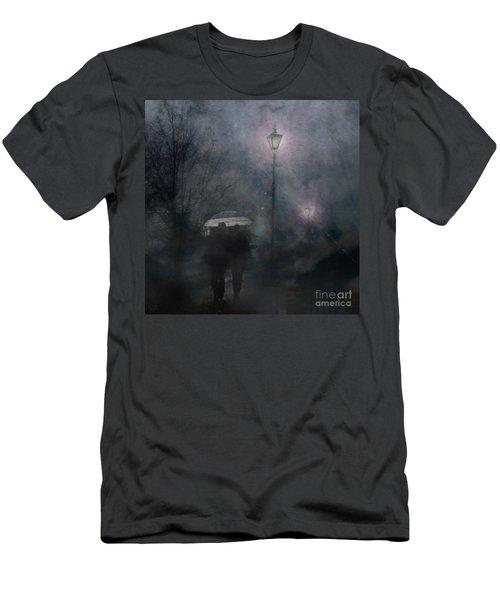 A Foggy Night Romance Men's T-Shirt (Athletic Fit)