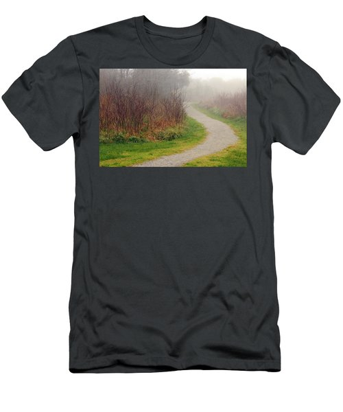 A Foggy Path Men's T-Shirt (Athletic Fit)