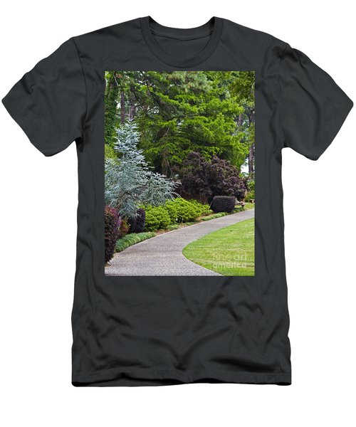 A Garden Walk Men's T-Shirt (Athletic Fit)