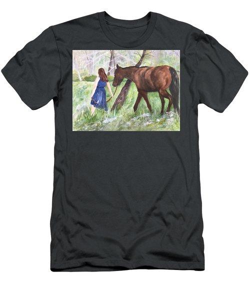 A Girl's Best Friend Men's T-Shirt (Athletic Fit)