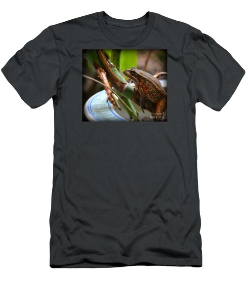 A Guest Men's T-Shirt (Slim Fit) by Tanya  Searcy
