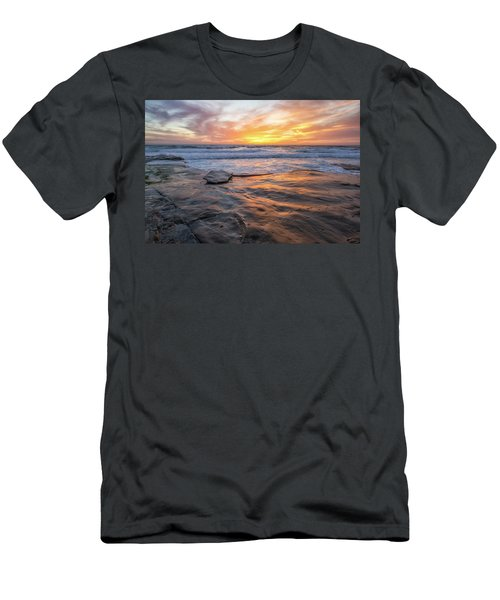A La Jolla Sunset #2 Men's T-Shirt (Athletic Fit)