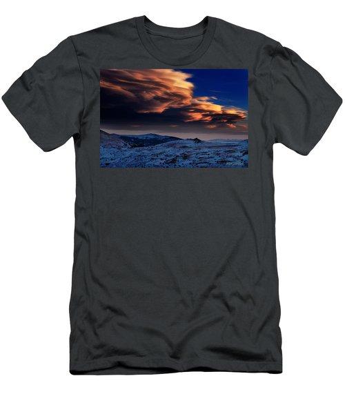 A Lenticular Landscape Men's T-Shirt (Athletic Fit)