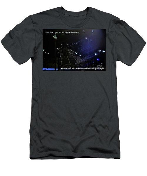 A Little Light Men's T-Shirt (Athletic Fit)