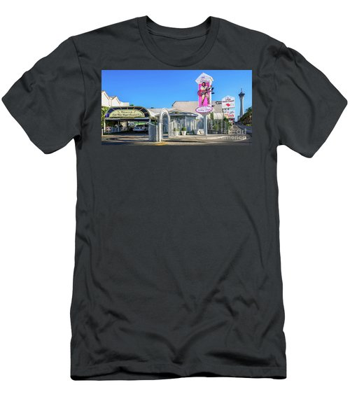 A Little White Chapel From The North 2 To 1 Ratio Men's T-Shirt (Slim Fit) by Aloha Art