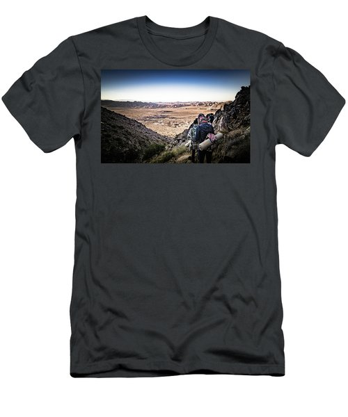 A Long Walk Through Joshua Tree Men's T-Shirt (Athletic Fit)