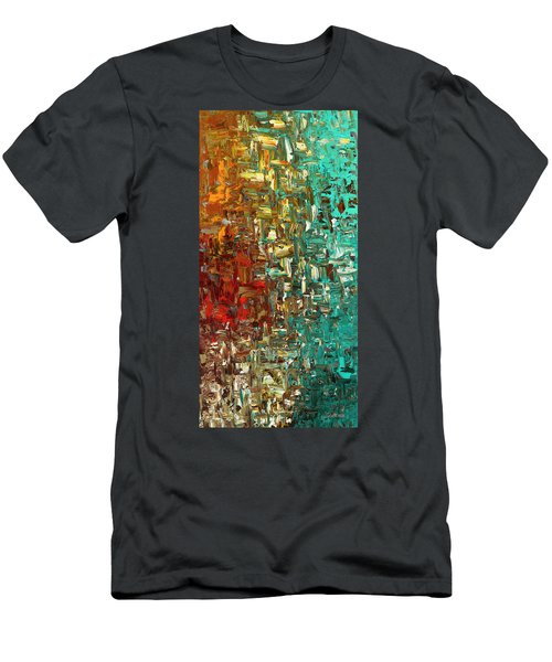 A Moment In Time - Abstract Art Men's T-Shirt (Athletic Fit)