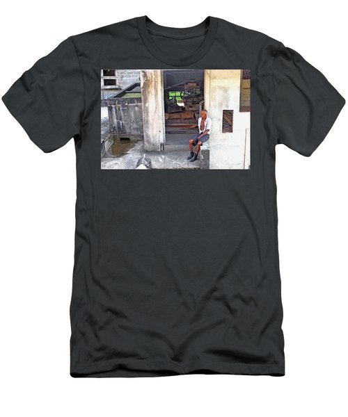 A Moment Of Reflection Men's T-Shirt (Athletic Fit)