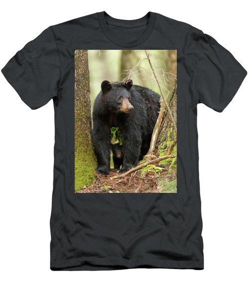 A Mothers Love Men's T-Shirt (Slim Fit) by Everet Regal