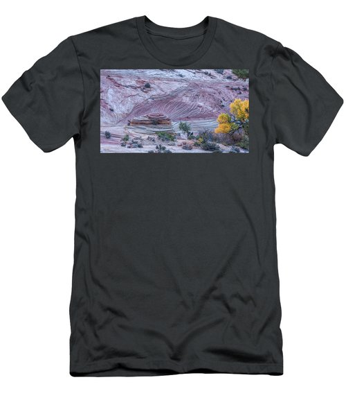 Men's T-Shirt (Athletic Fit) featuring the photograph A Natural Abstract by John M Bailey