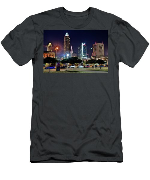 A New View Men's T-Shirt (Slim Fit) by Frozen in Time Fine Art Photography