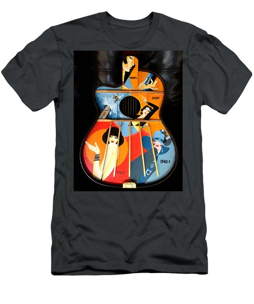 A Painted Guitar Men's T-Shirt (Athletic Fit)