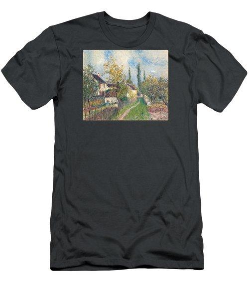 A Path At Les Sablons Men's T-Shirt (Athletic Fit)