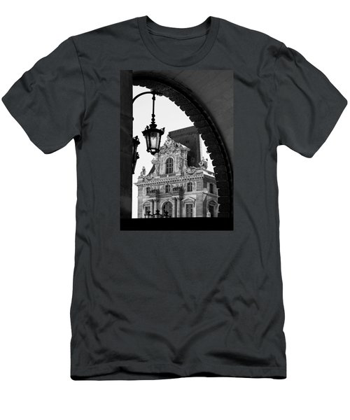 A Peak To The Louvre Men's T-Shirt (Athletic Fit)