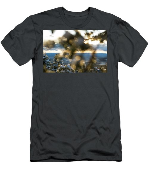 A Peek At Taos Mesa Men's T-Shirt (Athletic Fit)