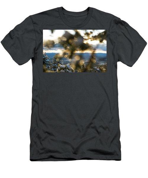 A Peek At Taos Mesa Men's T-Shirt (Athletic Fit)