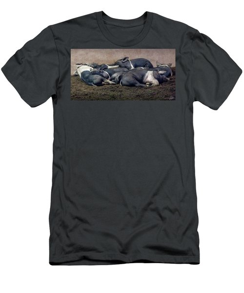 A Pile Of Pampered Piglets Men's T-Shirt (Athletic Fit)